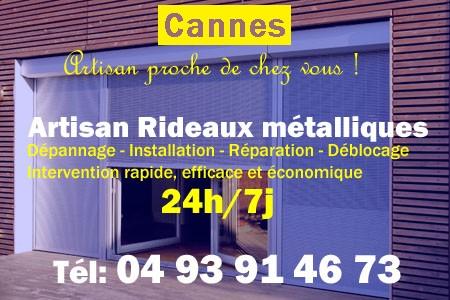 Rideaux Métalliques Cannes