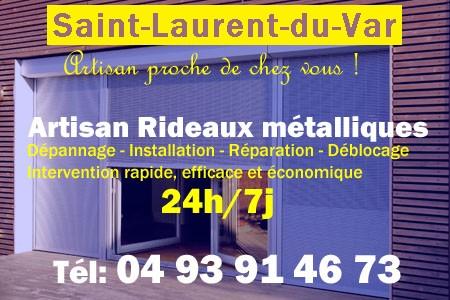 Rideaux Métalliques Saint Laurent du Var