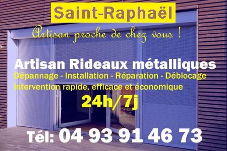 Rideaux Métalliques Saint Raphael