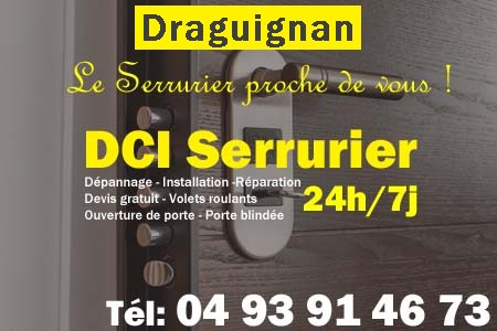 Serrurier Draguignan