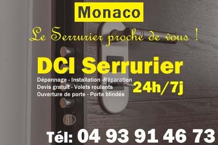 Serrurier Monaco