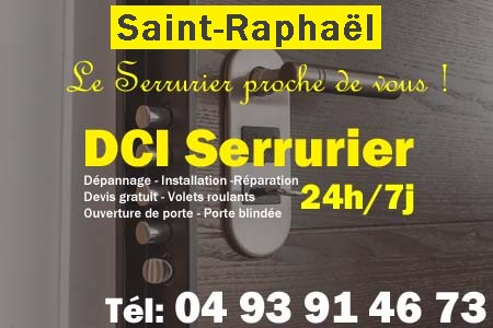 Serrurier Saint Raphael