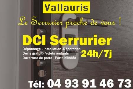 Serrurier Vallauris