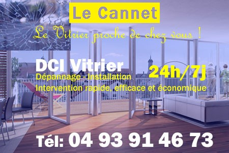 Vitrier Le Cannet