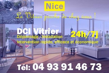 Vitrier Nice