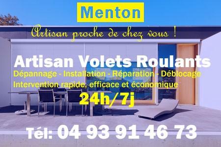 Volet Roulant Menton