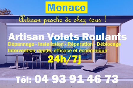 Volet Roulant Monaco