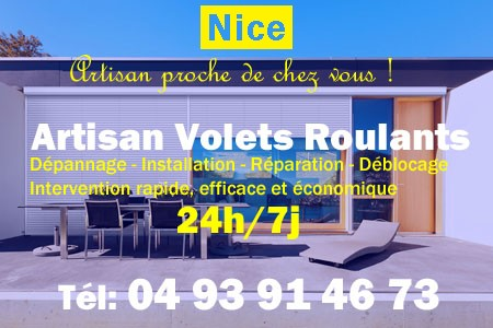 volet roulant Nice