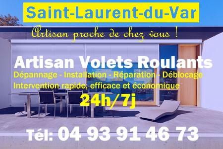 Volet Roulant Saint Laurent du Var