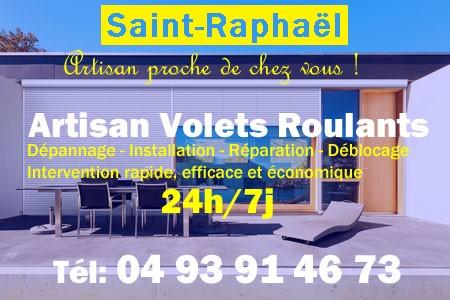 Volet Roulant Saint Raphael