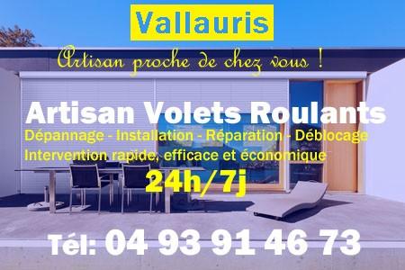 Volet Roulant Vallauris